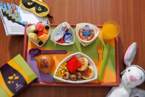 Emirates Airlines children food