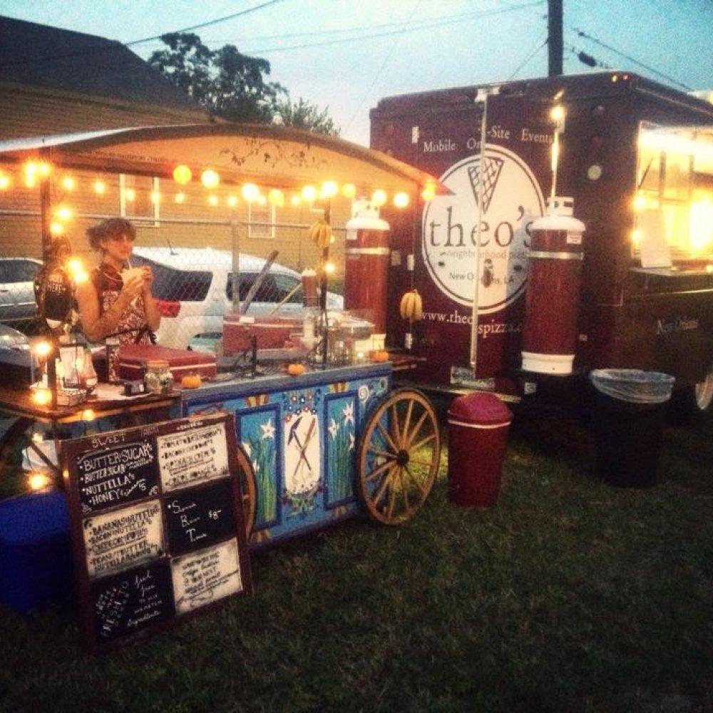 New Orleans street food