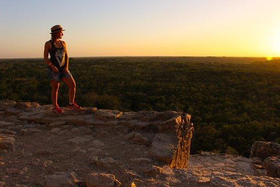 Coba Ruins Sunset