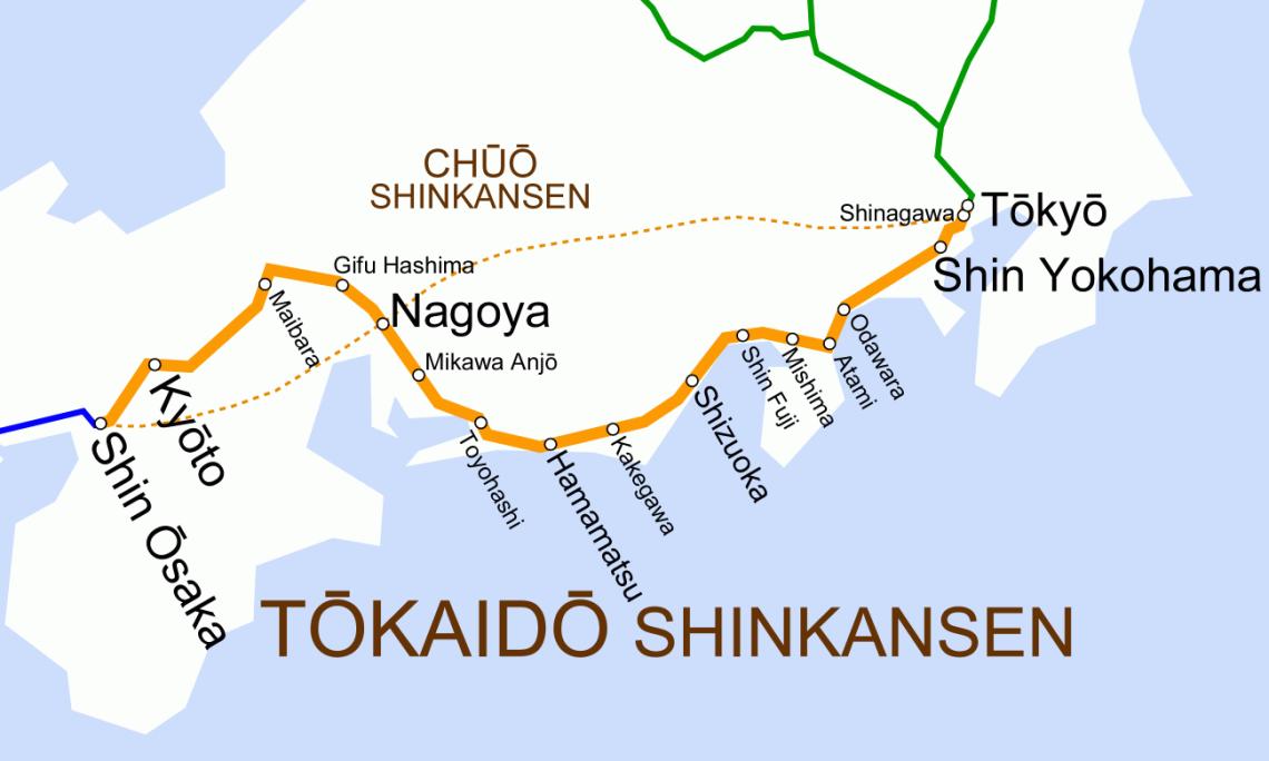 Tōkaidō route