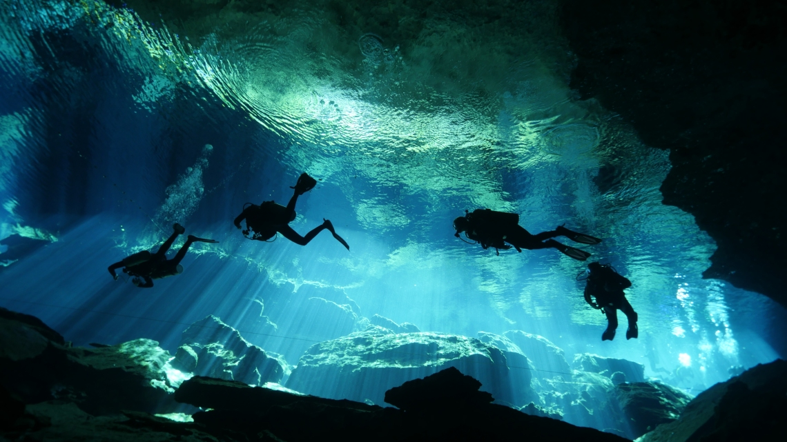 Freshwater cave diving.jpg
