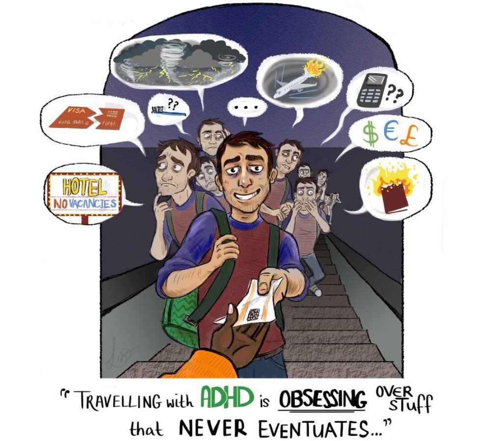travelling with ADHD