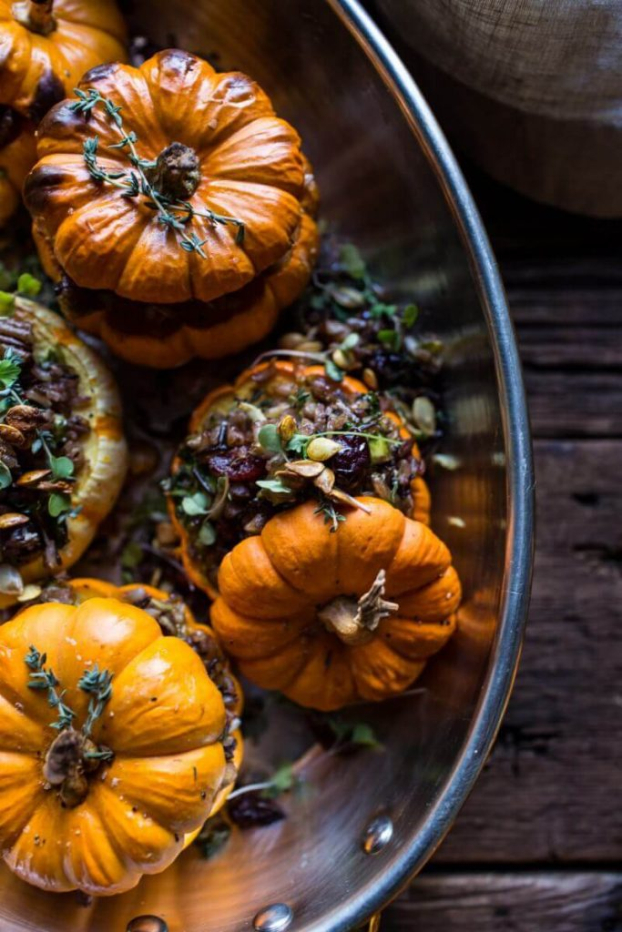 Nutty-Wild-Rice-and-Shredded-Brussels-Sprout-Stuffed-Mini-Pumpkins-81-683x1024